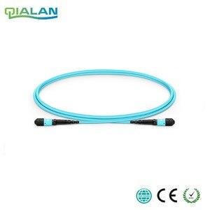 Image 1 - 100 m 12 cores MPO Fiber Patch Kabel OM3 UPC jumper Vrouwelijke aan Vrouwelijke Patch Cord multimode Trunk Kabel, type A Type B Type C
