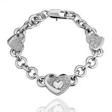Wholesale Fine Jewelry Love Bracelet New Style Women Bracelet 18k Gold Heart Bracelets & Bangles Fine Jewelry
