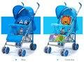 Портативный тип Детские коляски портативный складной лежа детская коляска с зонтиком