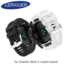 Fenix 3 Strap for Garmin fenix 5 watch band 20mm 26mm 22mm Silicone Garmin watch band Fenix5X/Fenix3/3HR Garmin Fenix5/935 5S new watch case for garmin fenix 5 gps replacement silicon slim cover protector shell for garmin fenix5 plus forerunner 935 watch