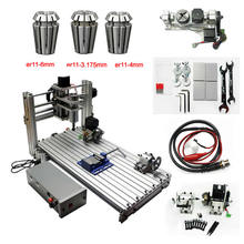 CNC 2060 Engraving machine 5 AXIS CNC Router 4axis mini carving milling engraver acctek hot sale 4 axis cnc router engraving machinery 6012 cnc router engraver drilling and milling machine 6090