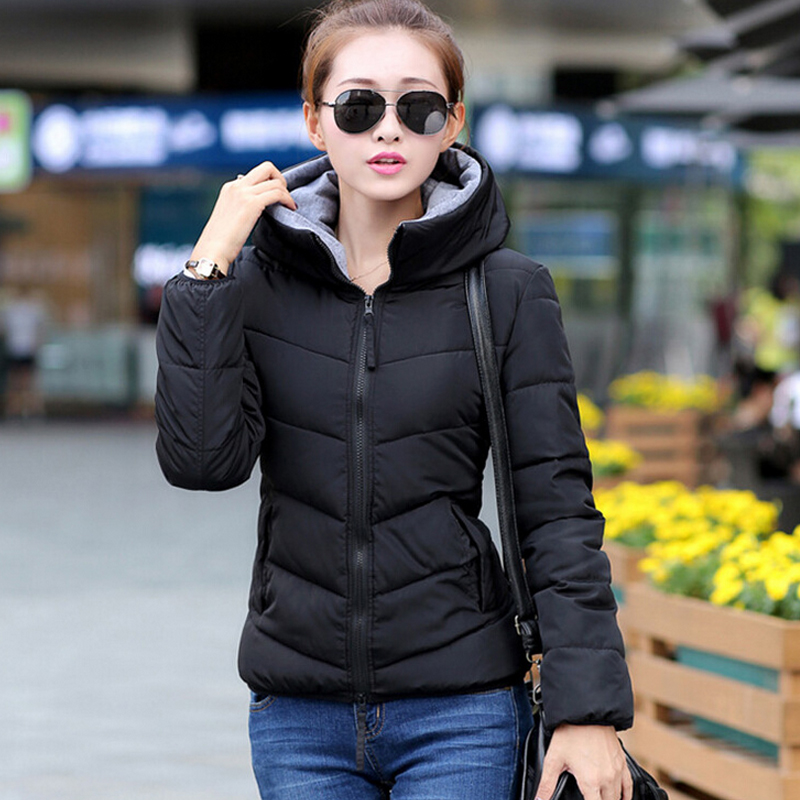 Slim Female Winter Jacket Women Hooded Womens Winter Jackets And Coats 2017 Cotton Winter Coat Women Manteau Femme Hiver womens winter jackets and coats 2016 thick warm hooded down cotton padded parkas for women s winter jacket female manteau femme