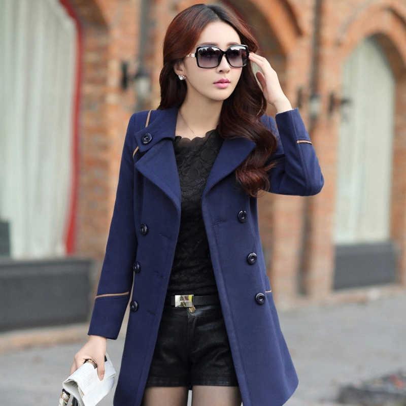 Winter Coat Women Long Trench Coat For Women Plus Size Casaco Clothes 2019 sobretudo feminino abrigos mujer invierno 2019