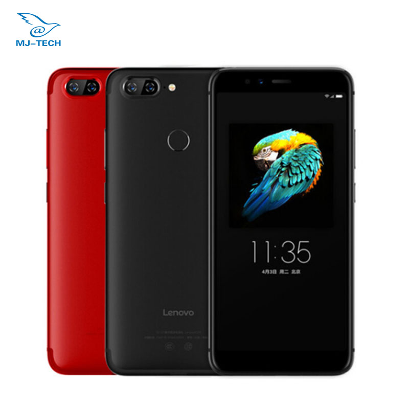 """Глобальный Lenovo S5 K520 4 ГБ 64 г Snapdragon 625 Восьмиядерный 2,0 ГГц Android O Две сим-карты 2160×1080 P 5,7 """"18:9 мобильный телефон"""