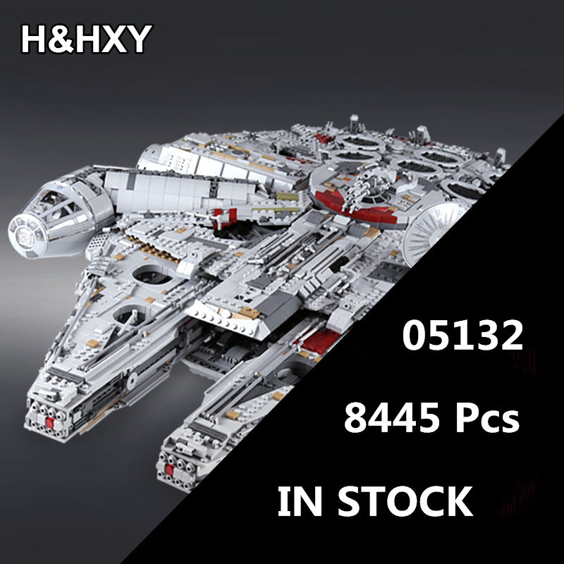 IN STOCK H HXY 05132 8445Pcs Star Series Wars Ultimate Collector s Model Destroyer LEPIN Building