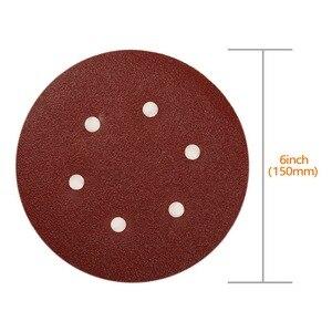 Image 2 - Набор шлифовальных дисков SPTA, 6 дюймов, Зернистость 40 # 100 #, 2000 шт.