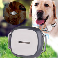 GPS Pet Tracker LED Light And Collar 2018 New Multi Function Dogs Collars Three mode Positioning Electronic Fence Track Playback