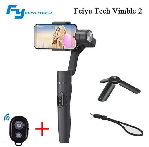 Feiyu vimble 2 vimble2 Smartphone 3-Axes De Poche Cardan Stabilisateur pour iPhone X Gopro Hero sjcam cam xiaomi PK zhiyun Lisse Q