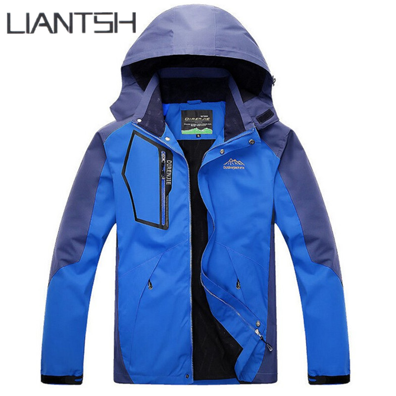 Best Fleece Waterproof Men's Spring Hiking Jackets, Original Brand ...