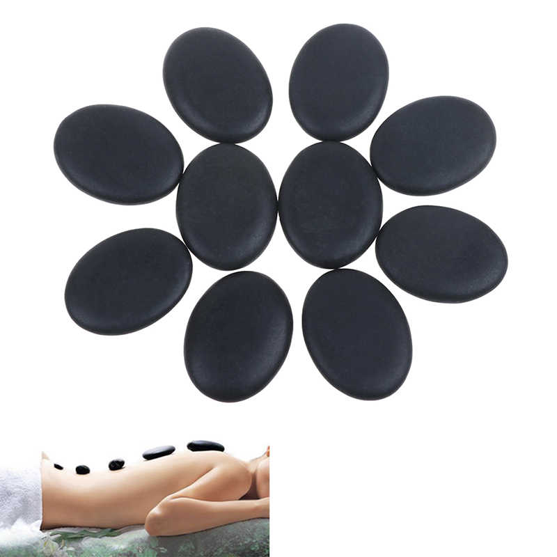 2pcs/6pcs/8pcs/10PCS Beauty Stones Massage Spa Rock Basalt Stone Lava Natural Stone Hot Sale