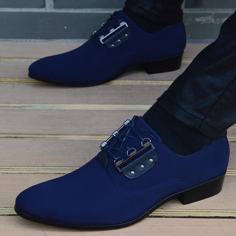 2018 Men Flats Fashion New Style Cloth Shoes Men,Lace Up Business Men Shoes,Men Dress Shoes, Oxfords shoes-in Oxfords from Shoes    3