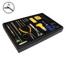 Tout nouveau 20 pièces/ensemble montre outils de réparation ensemble montre accessoires bracelet de montre réglage montre batterie outils de remplacement ensemble
