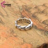 Wysokiej Jakości Kobiety Pierścienie 925 Sterling Sliver Prosta Gładka Powierzchnia Pentagram Mody 2017 Nowych Mężczyzna Pierścienie wedding ring gorąca sprzedaż