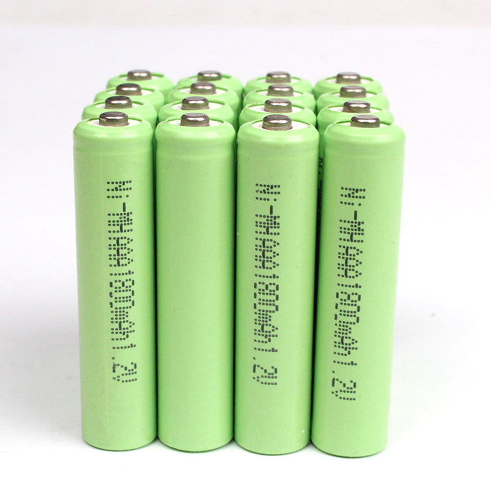 New 2pcs Rechargeable AAA Battery 1.2V 600/800/1000/1200/1600/1800mAh NI-MH AAA Battery For Flashlight Toys Electronic Etc 0.11