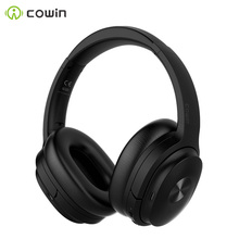 Cowin se7 ANC Bluetooth headset active noise canceling headphones wireless headset with microphone aptx headset  30db