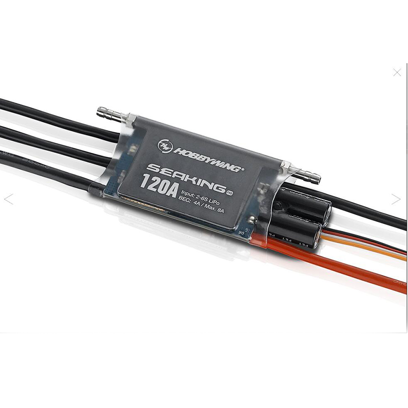 Hobbywing Seaking Pro 120A Waterproof Brushless ESC Speed Controller for RC Toys Boats SeaKing 120A Pro