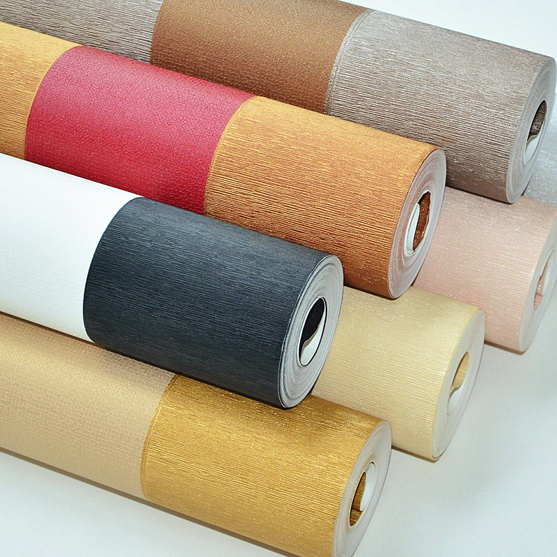 Home Improvement Wall Papers Home Decor Wide Stripe Wallpaper Roll for Living Room Walls Contact paper Papel Mural vinilo pared