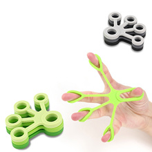 Hot Finger Gripper Resistance Bands Stretcher Silicone Hand Exerciser Grip Strength Wrist Trainer Fitness Equipment
