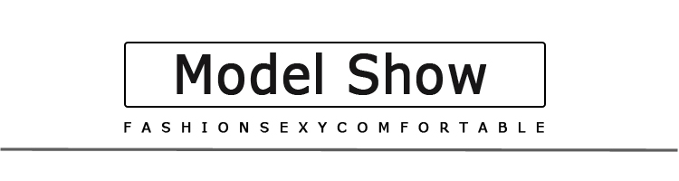 model show文字