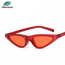 459f3b0fc26 DIGUYAO Small Triangle Cat Eye Sunglasses Women Fashion Vintage Cat Eyeglasses  Female 2018 Stylish Sun Glasses UV400 Goggles