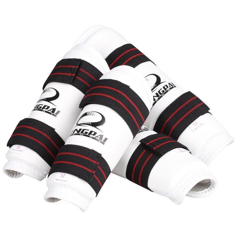 8 pcs venda quente protetores de Taekwondo terno adulto Criança luvas TKD calçado peito karate shin guarda braço pontapé MMA Capacete de virilha guarda 3