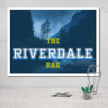 riverdale canvas painting poster picture pop funko deco house modular table giclee print