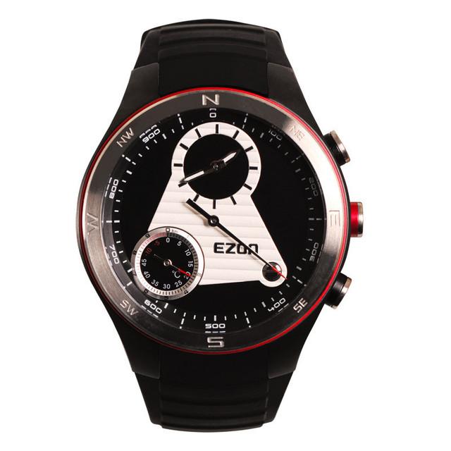 EZON relojes multifunción sistema de clase montañismo altitud brújula temperatura dos hombres relojes impermeables H603A