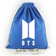 Kpop BTS Drawstring Bags Collection [16 colors]