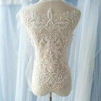 Süper Nakış, dantel, çiçek, el yapımı Düğün, elbise, malzemeler, aksesuarları, arka plan Dekorasyon Aksesuarları, RS928