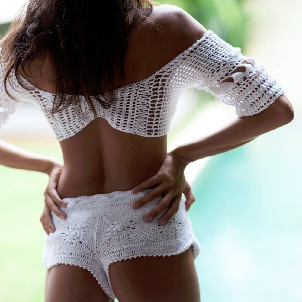 Week's Cropped Bikini Seychellois