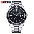 Curren 8110 Luxury Brand Men Watch Full Steel Business Quartz-Watch Day Date Calendar Wristwatch Fashion Relogio Masculino 2016