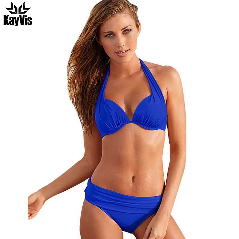 0ccb5ccac494d KayVis 2019 Sexy Bikinis Women Swimsuit Push Up Bikini Set Beach Wear Retro  Vintage Bathing Suits