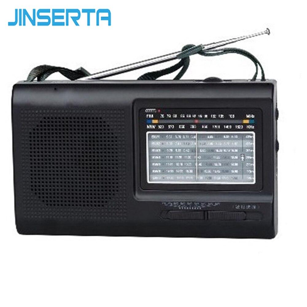 Tragbares Audio & Video Radio Jinserta Fm Sw Mw Radio Multi 3-band-funkempfänger Hohe Empfindlichkeit Unterstützung Batterie/ac Stromversorgung Moderate Kosten