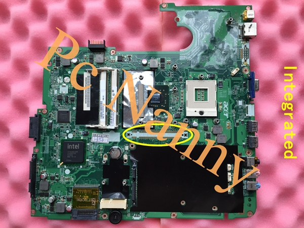 MBAVR06001 DA0ZY2MB6F0 ORIGINAL laptop Motherboard for Acer 7730 G720 integrate DDR2 GL40 free CPU Full Tested