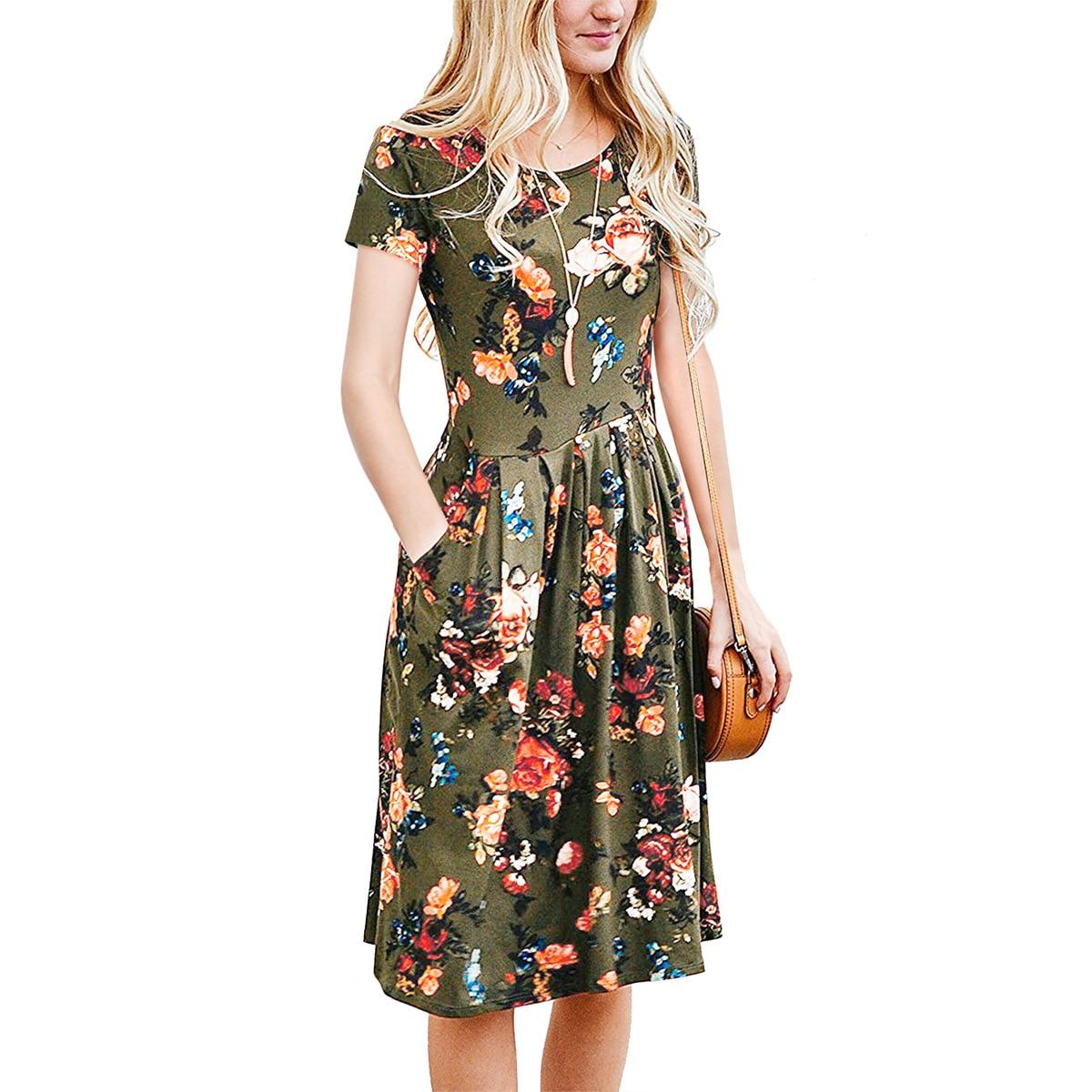 أوسيدي 2018 الصيف النساء أزياء ضئيلة - ملابس نسائية
