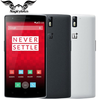 Original OnePlus one Cell Phone 5.5 1080P Android 5.1 Octa Core Snapdragon 801 3GB RAM 16GB ROM 13MP Mobile Phone