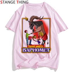 Szatan T Shirt mężczyźni/kobiety lucyfer Demon śmierci straszny zło satanizm Grim Reaper Baphomet T-shirt satanistycznych Tshirt mężczyzna/ damski top z krótkim rękawem 2