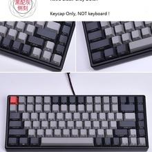 476a1a5a2e0 Keycool 84 mini mechanical keyboard PBT keycap mini84 compact game keyboard  side print keycaps retro Dolch