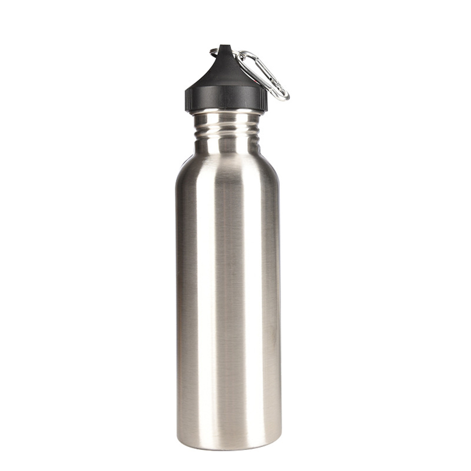 Creative Travel Outdoor Water Bottles Portable Dog Cat: Transhome Creative Stainless Steel Bottle Water Sports