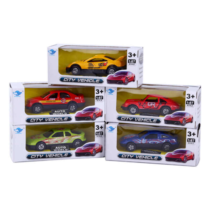 Children Toy New Cartoon Mini Simulation Alloy Car Model Toys  Birthday Christmas Gift For Kids - Random