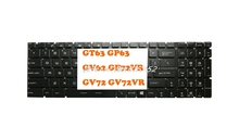 Laptop Keyboard For MSI GT63 GP63 GV62 GF72VR GV72 GV72VR United States US New and Original