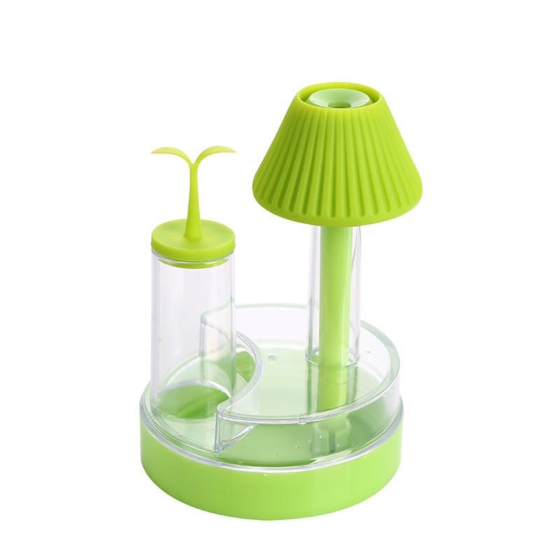 USB Mini llamba e gjelbër fidane lagështuesi për atomizimin e - Pajisje shtëpiake - Foto 5