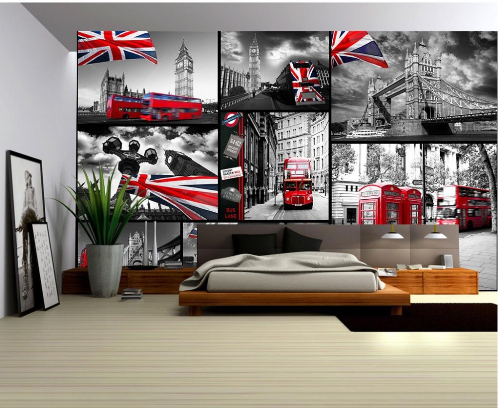 compare prices on london mural wallpaper online shopping buy low