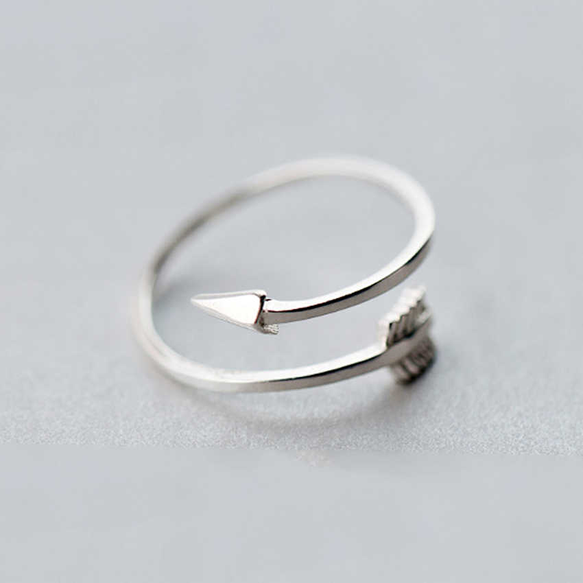 Todorova New      Jewelry Plain Polished Love Arrow Toe Ring for Women Gift Open Adjustable Rings