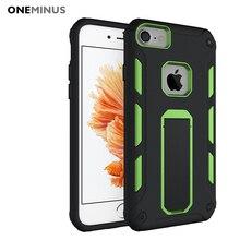 OneMinus Ударопрочном Корпусе Для apple iphone 6 s силиконовый Чехол Для iphone 7 случай антидетонационные держатель дело