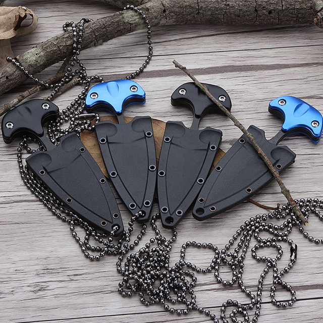 Multifunctional Mini Hanging Necklace Knife Survival Tool