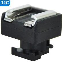 JJC Mini Advanced Hot Shoe to Universal Shoe Adapter Mount for Canon S21/S200/G10/S30/M52/200/ M32/S20/S11/S10/M300 Contact LED