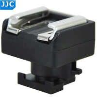 JJC Mini Erweiterte Heißer Schuh zu Universal Schuh Adapter Halterung für Canon S21/S200/G10/S30/ m52/200/M32/S20/S11/S10/M300 Kontakt LED