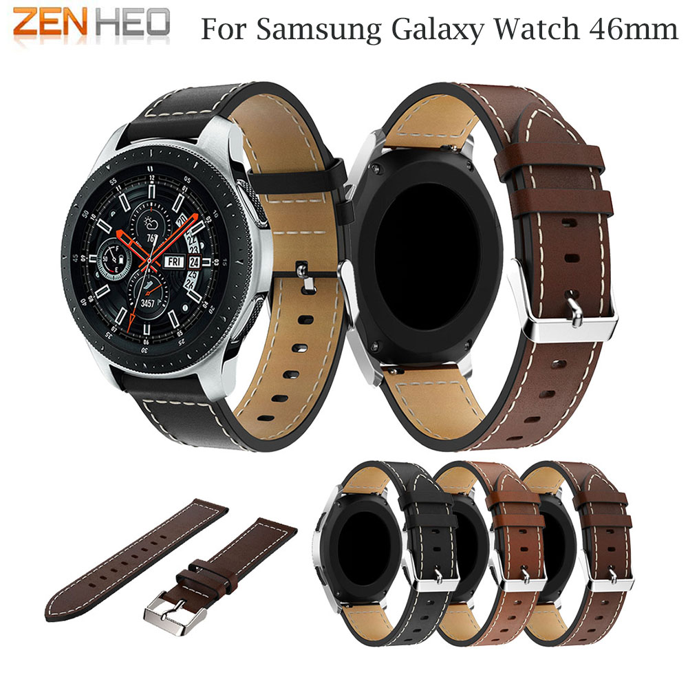 Smart-Watch-Strap Watchband Huami Amazfit Xiaomi Pace/stratos Samsung Genuine-Leather
