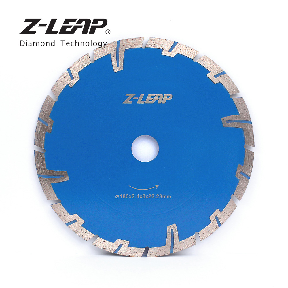 Z-LEAP 7inch 180mm Diamond Saw Blade For Cutting Concrete Granite Circular Saw Blade Diamond Grinding Wheels